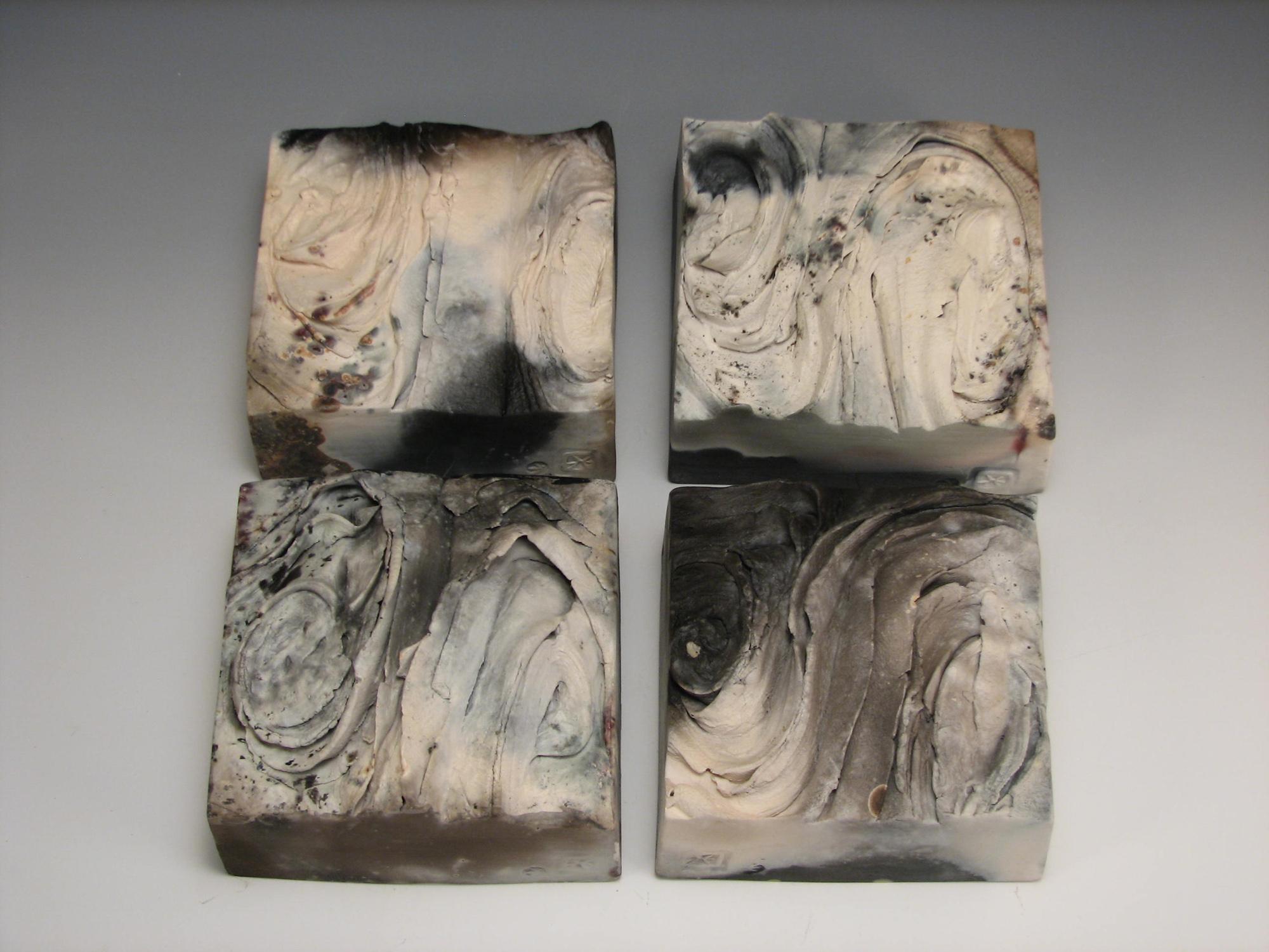 Delphic Landscape; Stoneware clay, Ash glaze; 2015