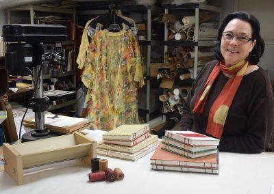 Liz Mitchell's Studio