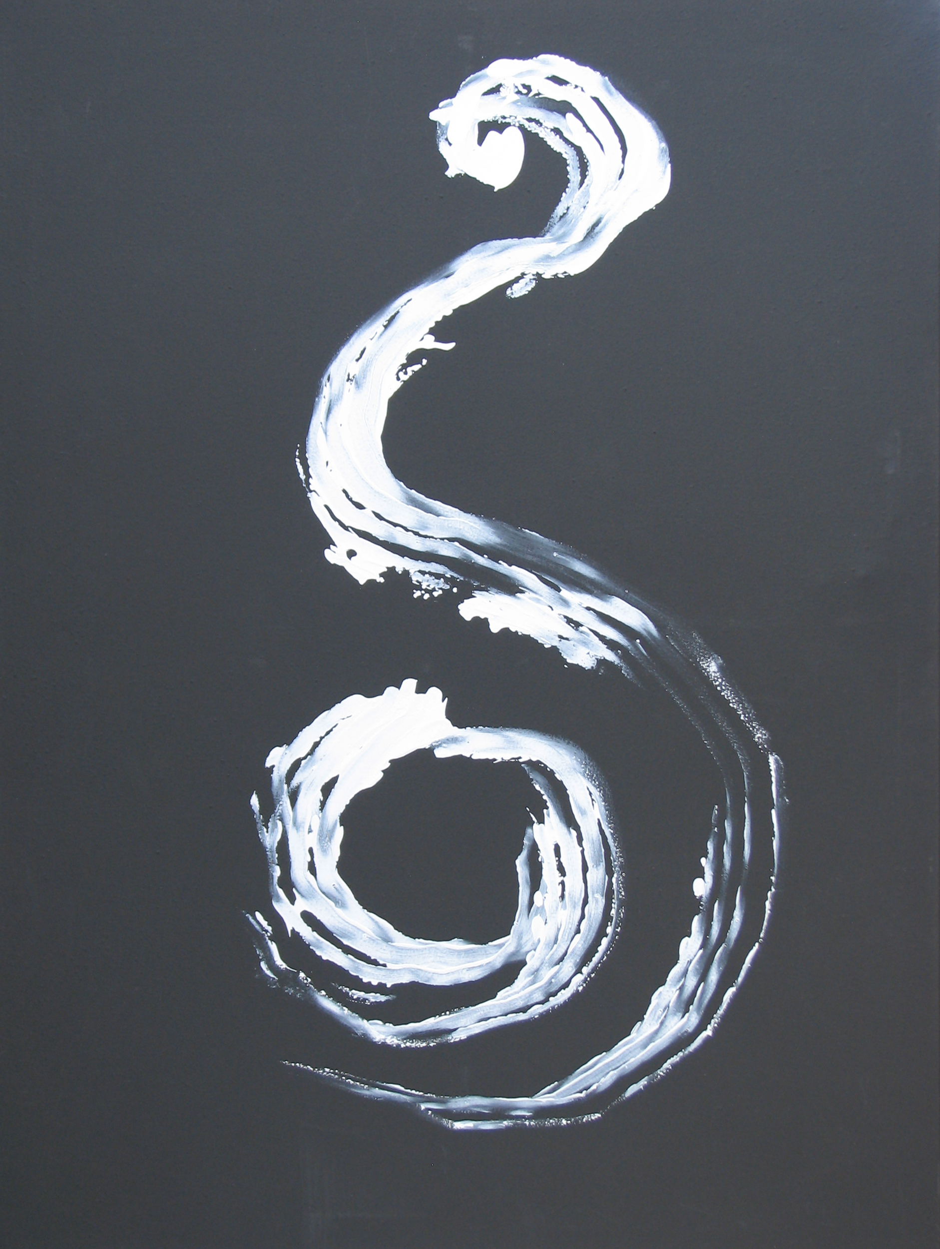 Solstice Meditation; acrylic on canvas; 2016