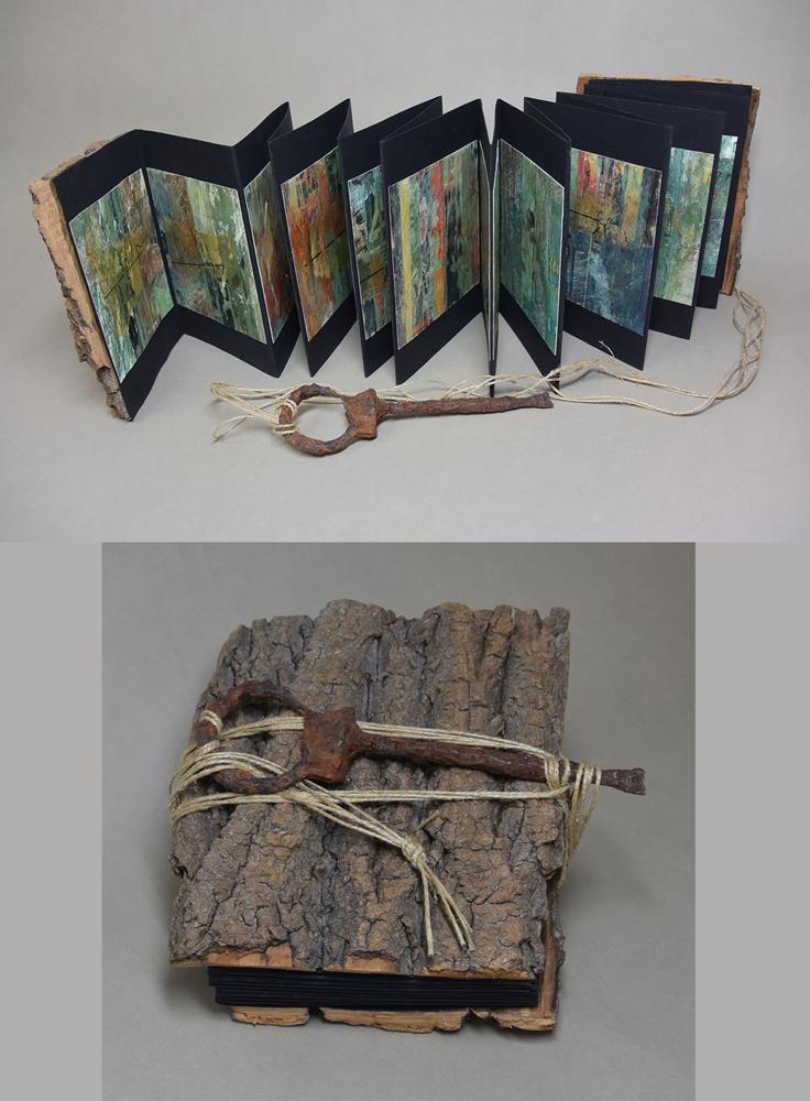 Liz Mitchell Rusted Observations Artist Book 6.5x5.5x2.5 2019